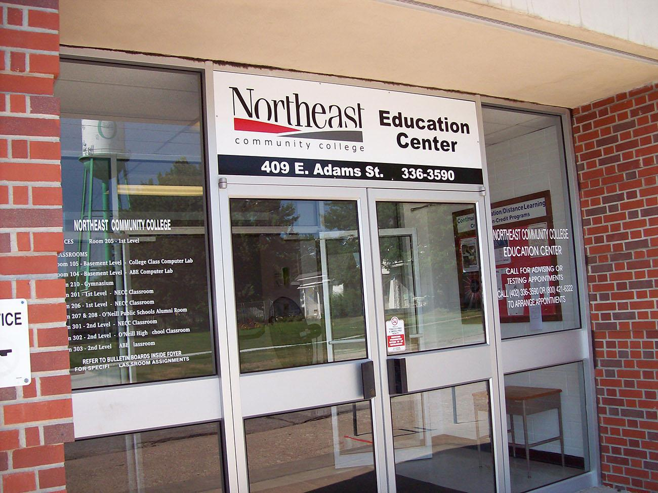 O\u0027Neill C&us makes school convenient for students & Former Northeast Community College student thrilled for new extended ...
