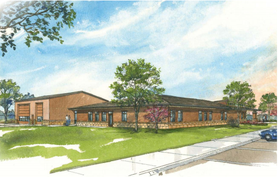 The proposed new O'Neill Campus - Northeast Community College