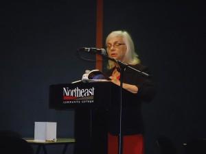 Poet Marjorie Saiser