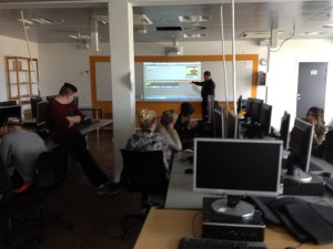 Students at Aarhus Business College Aarhus, Denmark